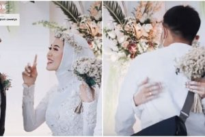 Bride Goes Viral after Asking Groom If She Can Hug Ex-BF One Last Time