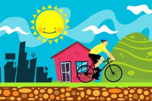 How Daily Bike Rides Can Boost Mood & Decrease Stress