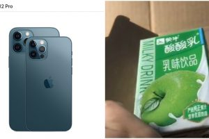 Woman Buys iPhone 12 Pro Max from Apple Store for $1,500, Receives Box of Apple Drink