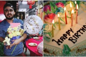 Guy Buys Birthday Bouquet for Self Because He's Never Received One Before