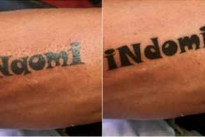 Guy Changes Tattoo of Ex-GF's Name into Popular Noodles Brand after They Broke Up