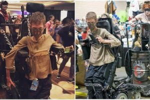Disabled Cosplayer Turns His Wheelchair into Impressive 'Mad Max' Costume