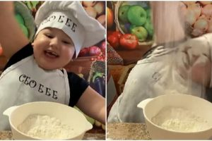 Toddler's Failed Baking Attempt Receives Mixed Reactions, Some Netizens Angry at His Parents