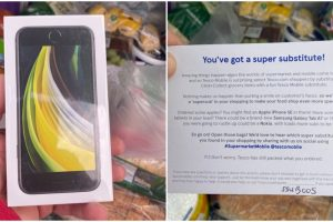 Lucky Guy Receives Brand-New iPhone SE after Buying Apple Fruits Online