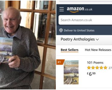96-Year-Old Grandpa's Book Becomes #1 Bestseller after Granddaughter's Tweet