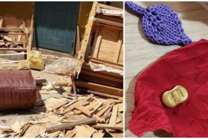 Man Takes Home an Abandoned Sofa, Finds Money and Gold Inside