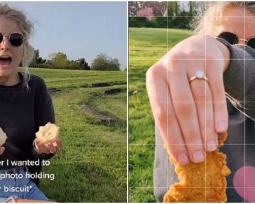 Guy's Surprise Wedding Proposal with KFC Biscuit Goes Viral