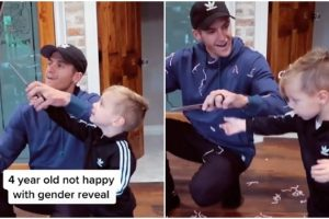 Disappointed Kid Goes Viral after Baby Didn't Come Out from Gender Reveal Balloon