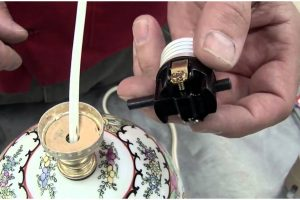 How to Replace a Lamp Socket with a Push-Button Switch