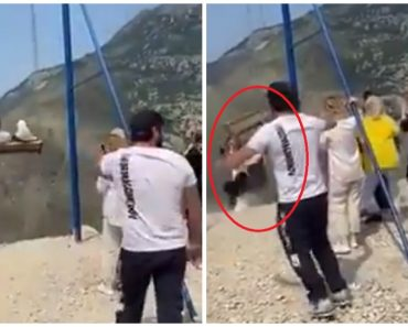 VIDEO: Two Women Fall from Giant Swing at the Edge of 6,300-ft Cliff