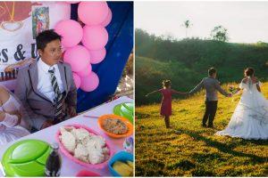 Couple's Simple Wedding with Incredible Photos Earns Praise on Social Media
