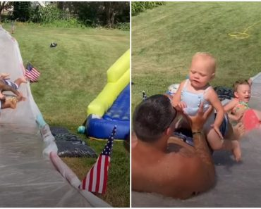 Super Dad's Impressive Reflexes to Save Baby from Possible Injury Goes Viral