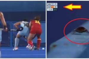 Confusion at Olympics after Cameraman Focuses on Cockroach at Hockey Match's Final Moments