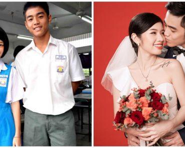 High School Sweethearts Get Married, Sweet Love Story Goes Viral