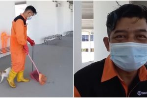 Street Sweeper Learns to Speak 11 Foreign Languages